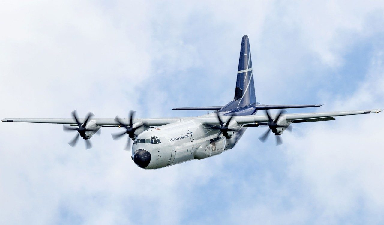 LM-100J Makes Farnborough International Airshow Debut