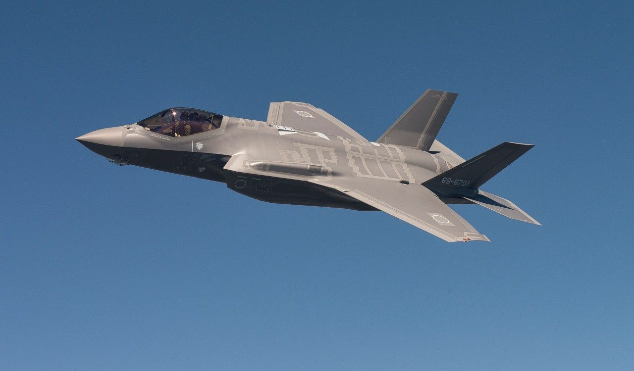 Japan's First F-35's First Flight