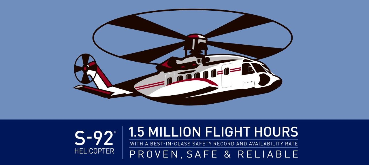 Sikorsky S-92® Helicopter Infographic